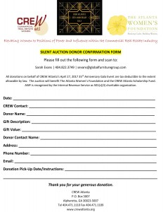Microsoft Word - Gala Silent Auction Donation Form
